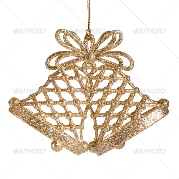 Christmas decoration isolated - Stock Photo - Images