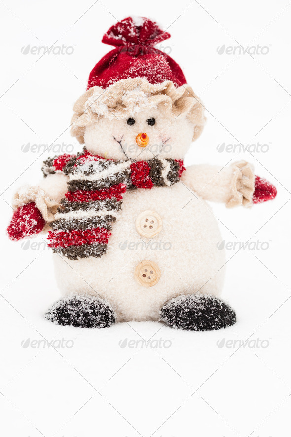 Snowman - Stock Photo - Images