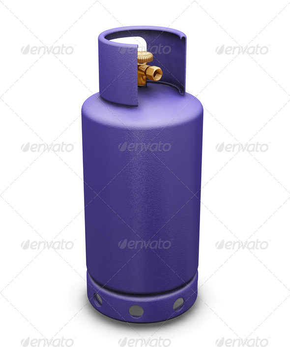 Butane gas - Objects 3D Renders