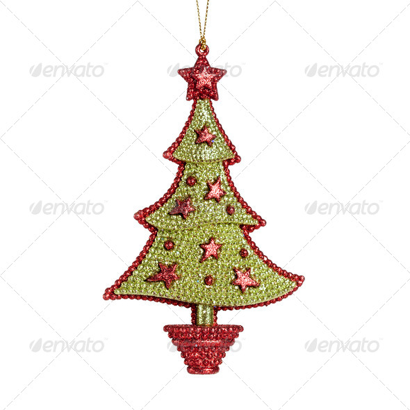 Christmas decoration isolated - Stock Photo - Images