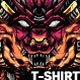 Mecha Wolf T-shirt Design
