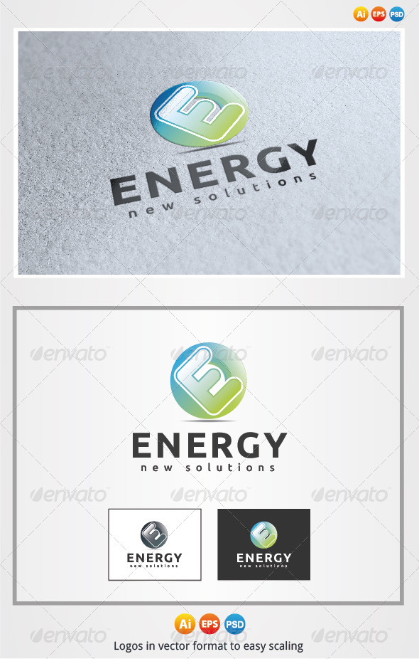Energy  - Letters Logo Templates