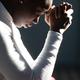 Woman praying in church - PhotoDune Item for Sale