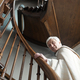 Priest moving up the stairs - PhotoDune Item for Sale