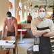 Cafe Workers Wearing Mask Portrait - PhotoDune Item for Sale