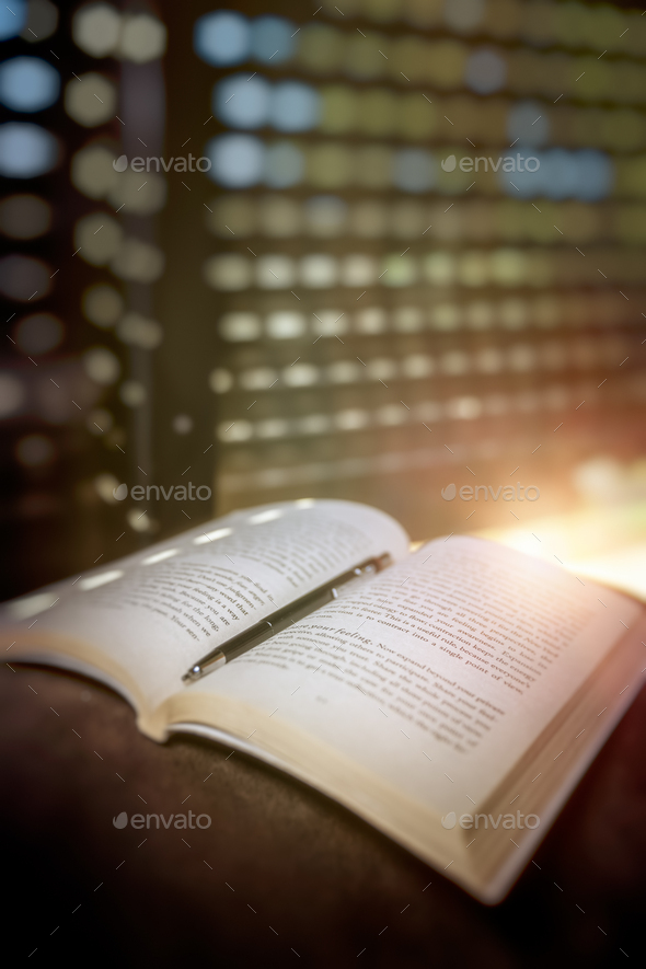 Nice Day with a Book - Stock Photo - Images