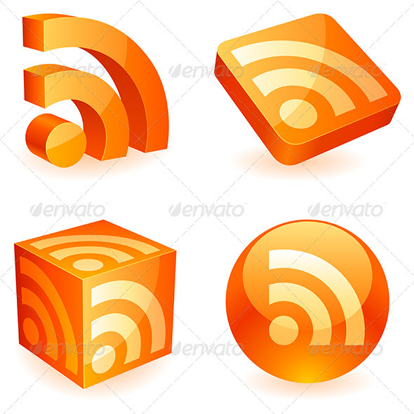 Rss Symbol - Web Elements Vectors