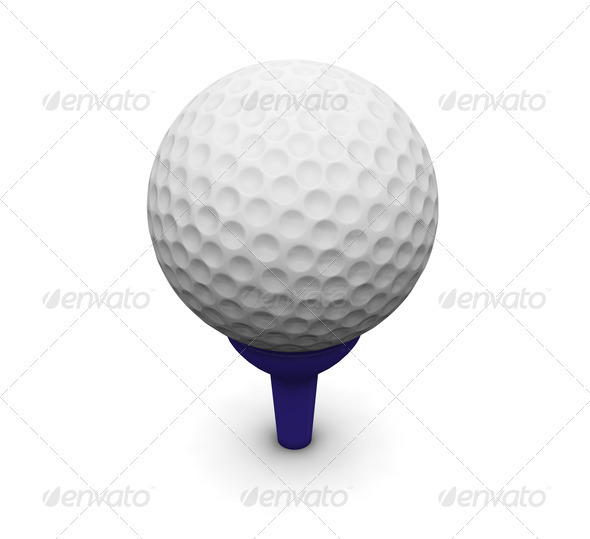 Golf ball - Objects 3D Renders
