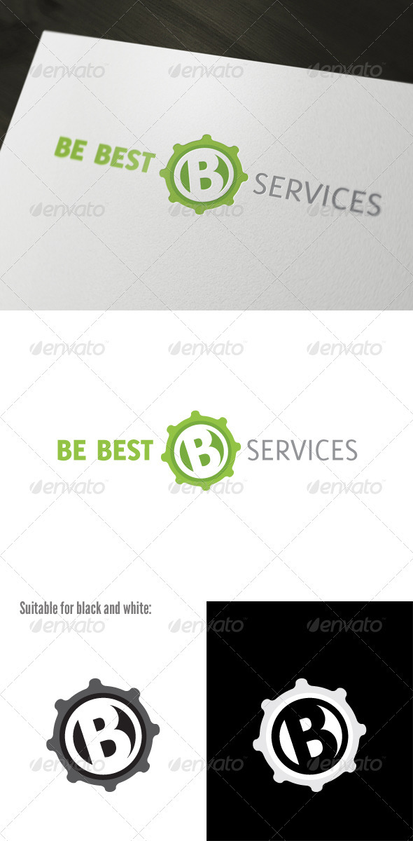 Be Best Logo Template - Letters Logo Templates
