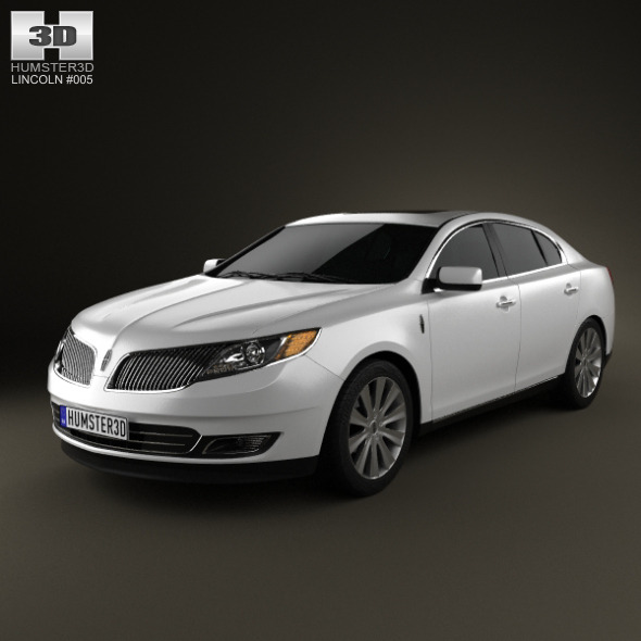 Lincoln MKS 2013 - 3DOcean Item for Sale