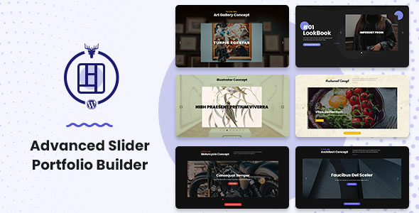 Advanced Slider Portfolio Builder