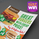The Restaurant Flyers 2 - GraphicRiver Item for Sale