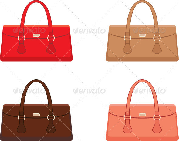 Female bags - Conceptual Vectors