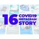 Covid-19 Instagram Story Pack - VideoHive Item for Sale