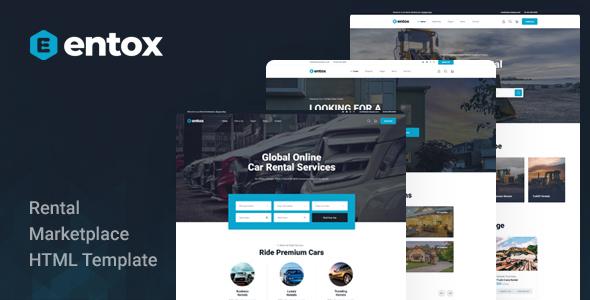 Entox – Rental Marketplace HTML Template
