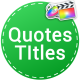 Quotes Titles | FCPX - VideoHive Item for Sale