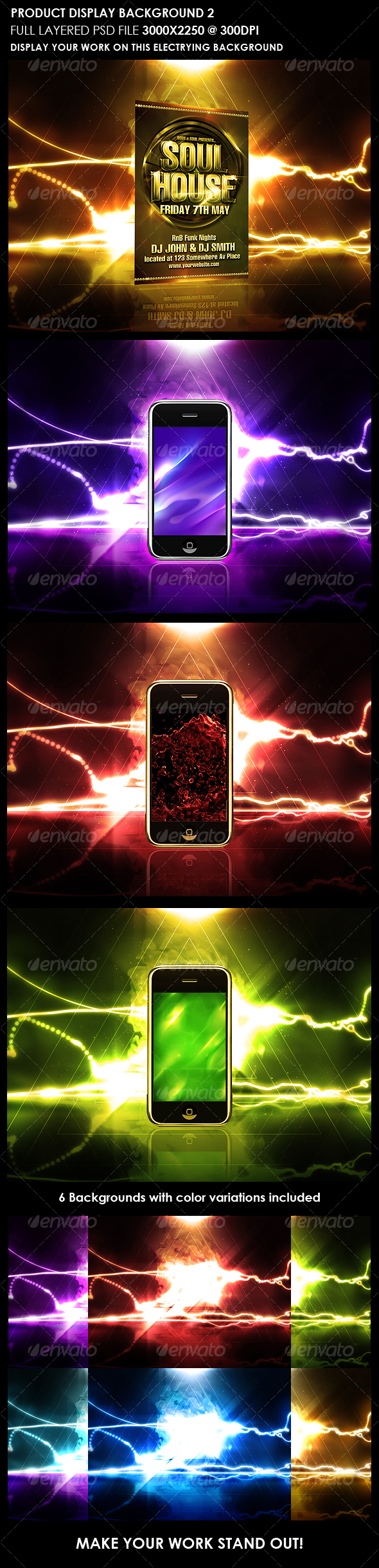 Product Display Background 2 - Backgrounds Graphics