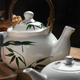 Close-up view of the porcelain teapot - PhotoDune Item for Sale