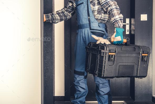 Door to Door Service Concept - Stock Photo - Images