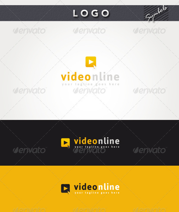Video Online Logo - Symbols Logo Templates