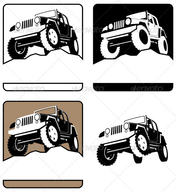 Off-Road Symbol - Decorative Symbols Decorative