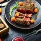 Juicy beef steak with kumquat - PhotoDune Item for Sale