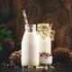 Cedar nut milk in bottles - PhotoDune Item for Sale