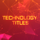 Technology Titles - VideoHive Item for Sale