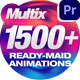 Multix // Transitions / Grids / Overlays / Wipes - VideoHive Item for Sale