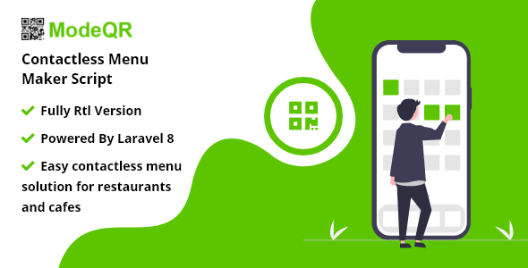 Download ModeQR – Contactless Menu Maker Script Free Nulled