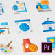 Education Modern Flat Animated Icons - Mogrt - VideoHive Item for Sale