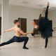 Female and male ballet dancers in action - PhotoDune Item for Sale