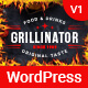 Grillinator - Restaurant and Cafe WordPress Theme
