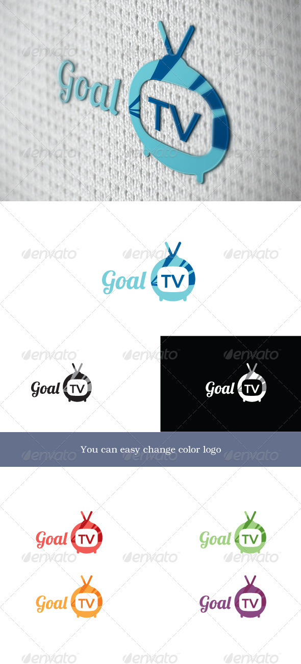 GoalTV - Objects Logo Templates