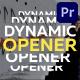 Dynamic Opener | MOGRT - VideoHive Item for Sale