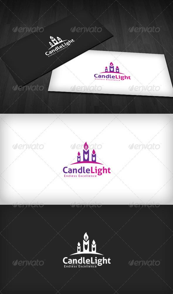 Candlelight Logo - Symbols Logo Templates