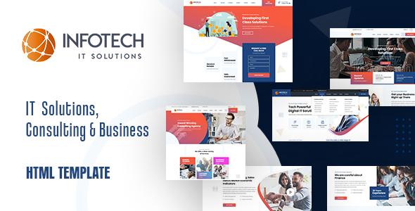 Infotech – IT Solutions HTML5 Template