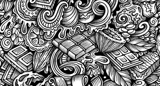 Graphic Doodle Patterns