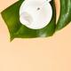 Collagen powder dietary supplement at pastel background - PhotoDune Item for Sale