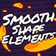 Smooth-Shape Elements // Final Cut Pro