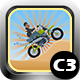 Desert Racer Motorbike Racing Game (Construct 3 | C3P | HTML5) Admob and FB Instant Ready