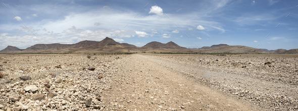 Kaokoland game reserve in Namibia - Stock Photo - Images