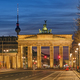 The famous Brandenburg Gate in Berlin - PhotoDune Item for Sale