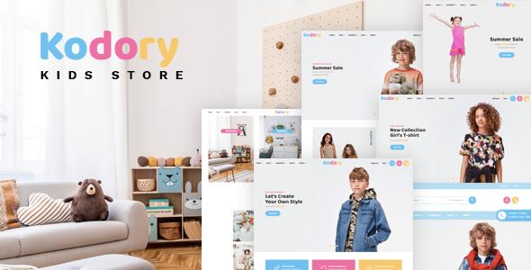 Kodory – Kids Store HTML Template