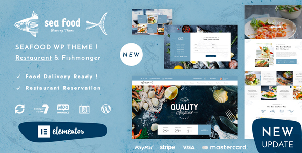 Pesce - Seafood Restaurant WordPress Theme