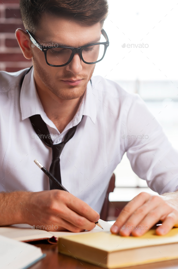Confident and creative. - Stock Photo - Images