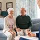 Social worker visiting seniors at home - PhotoDune Item for Sale