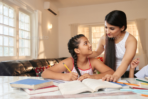 Studying at home - Stock Photo - Images