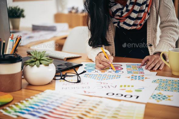 Design work - Stock Photo - Images