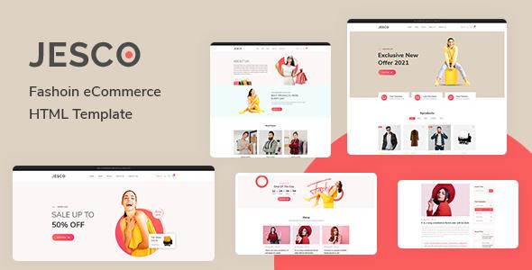 Jesco – Fashion eCommerce HTML Template